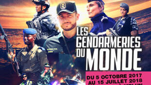 l'exposition « Les gendarmeries du monde », c'est à voir au musée de la gendarmerie à Melun près de Paris jusqu'au 15 juillet 2018.