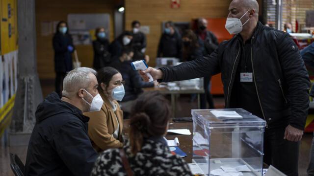 西班牙加泰罗尼亚疫情下周日选举 独派政党下台存悬念(photo:RFI)