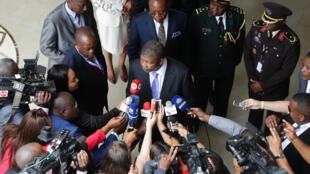 O Presidente angolano, João Lourenço