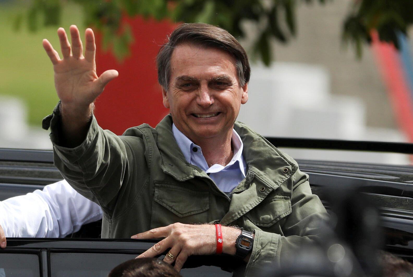 Избранный президент Бразилии Жаир Болсонару собирается перенести посольство Бразилии в Иерусалим