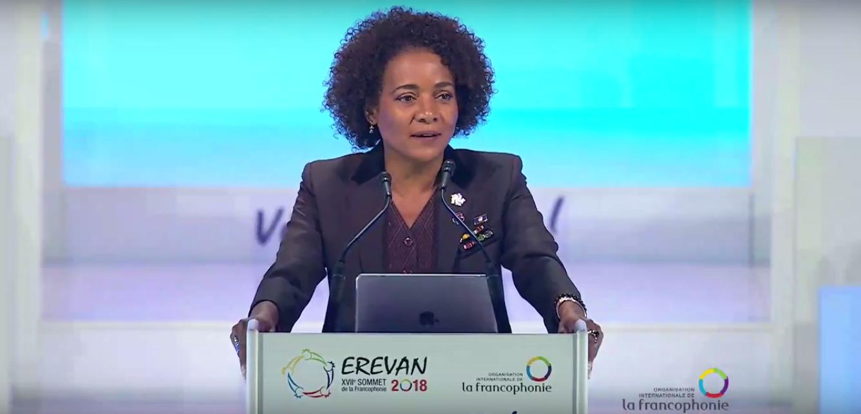 Discours de la secrétaire générale Michaëlle Jean, en ouverture du sommet de la Francophonie à Erevan, jeudi 11 octobre 2018.