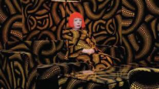A artista Yayoi Kusama.