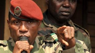 Moussa Dadis Camara, le chef de la junte au pouvoir depuis le 23 décembre 2008.
