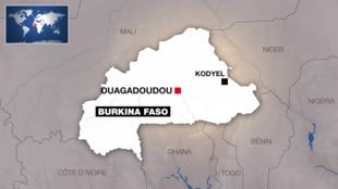 IMAGE Carte du Burkina Faso. 04/05/2021