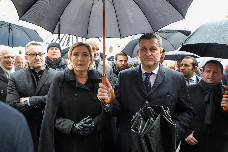 Marine Le Pen & Louis Aliot.
