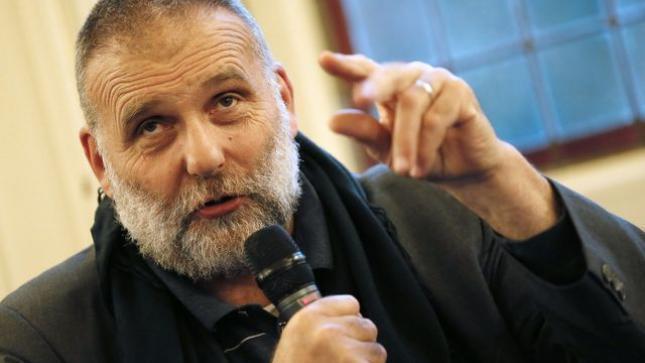 Le père Paolo Dall'Oglio en septembre 2012 à Paris.