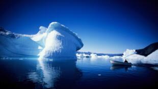آب شدن یخ های گروئنلند