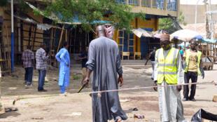 Imagen de archivo del mercado de Maiduguri, donde ya se habían producido atentados perpetrados por Boko Haram.