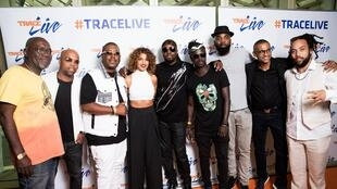 Wyclef Jean and friends.