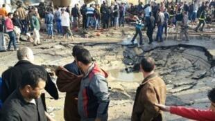Ataque terrorista suicida com uma bomba em Rafiaj, no Sinai.
