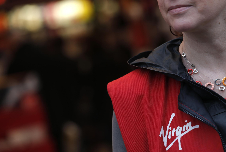 A  Virgin Megastore employee