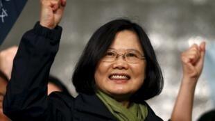 蔡英文當選台灣新總統