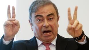 Tsohon shugaban hadakar kamfanin Nissan da Renault Carlos Ghosn.