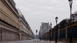 Wani yanki na birnin Paris a Faransa da ke fuskantar killacewa saboda Coronavirus.