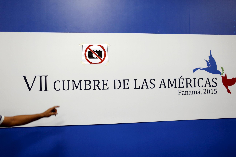 Sommet des Amériques, les 10 et 11 avril 2015 à Panama.