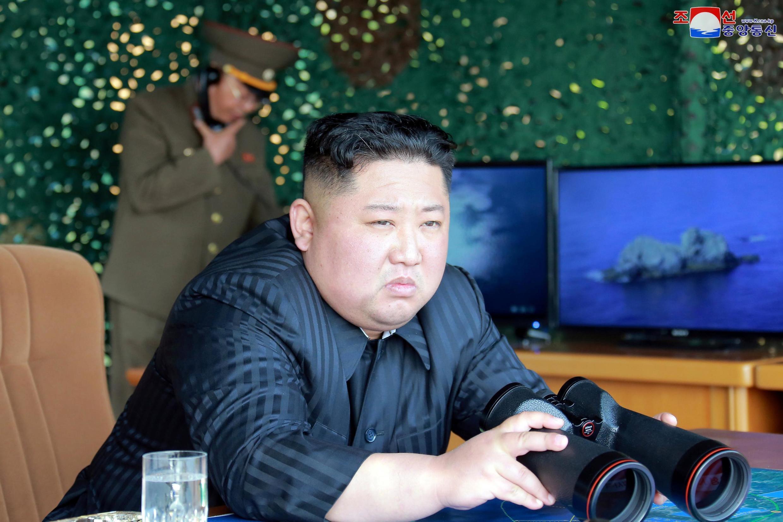 Shugaban kasar Korea ta Arewa Kim Jong Un