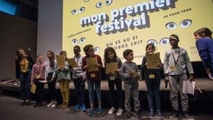 Is this the world's youngest film jury? Aged from 7 to 11, the members of the My First Festival jury in Paris