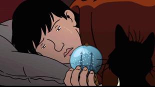 <i>Avril et le monde truqué, </i>, un film d'animation européen.