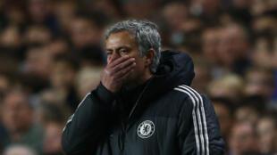 L'entraîneur de Chelsea, José Mourinho, au Stamford Bridge à Londres, le 30 avril 2014.