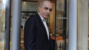 Ziad  Takieddine à son arrivée au pôle financier du tribunal de Paris, le 5 octobre 2011.