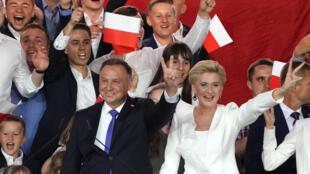 Le président polonais sortant Andrzej Duda a été réélu pour 5 ans, le 13 juillet 2020.
