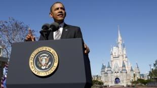 O presidente norte-americano Barack Obama disse hoje que os EUA facilitarão a entrada e turistas brasileiros e chineses.