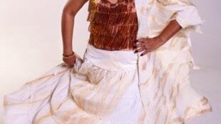 Loalwa Braz, vocalista da banda Kaoma