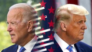 Joe Biden et Donald Trump.