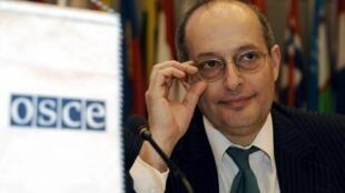 Cпециальный докладчик ООН по Беларуси Миклош Харасти