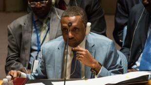 Mahamat Zene Cherif, le ministre tchadien des Affaires étrangères (image d'archives)