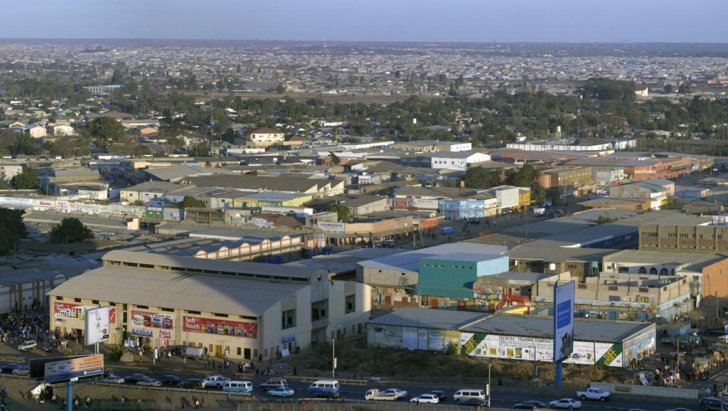 Mji wa Lusaka, mji mkuu wa Zambia. (Picha ya Zamani).