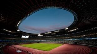 Один из олимпийских стадионов в Токио.
