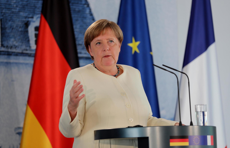 Angela Merkel chanceler  da Alemanha