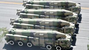 网传中国东风41型洲际弹道导弹