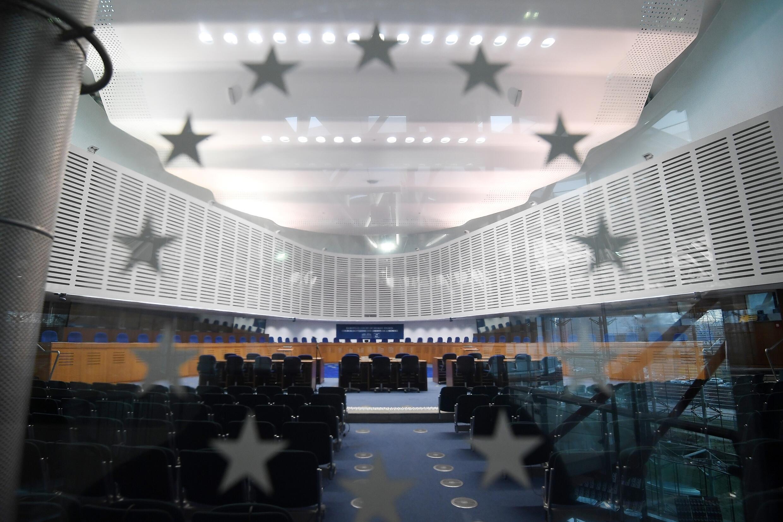 Una imagen de la sede del Tribunal Europeo de Derechos Humanos (TEDH) tomada el 7 de febrero de 2019 en la ciudad francesa de Estrasburgo