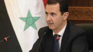 Foto oficial de Bachar al-Assad divulgada pela agência de notícias Sana, 20/6/2017.