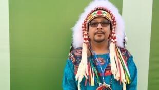 Le chef Kevin Hart représente les 63 nations amérindiennes du Manitoba.