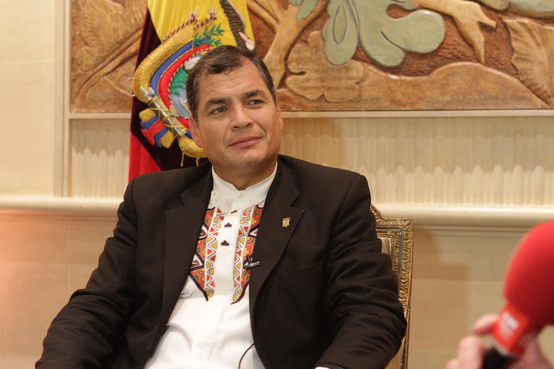 O presidente equatoriano Rafael Correa pretende deixar a vida política, pelo menos temporariamente.