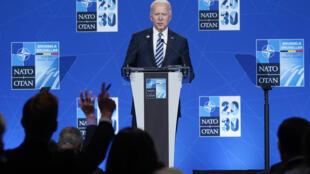 Shugaban Amurka Joe Biden wajen taron kungiyar NATO