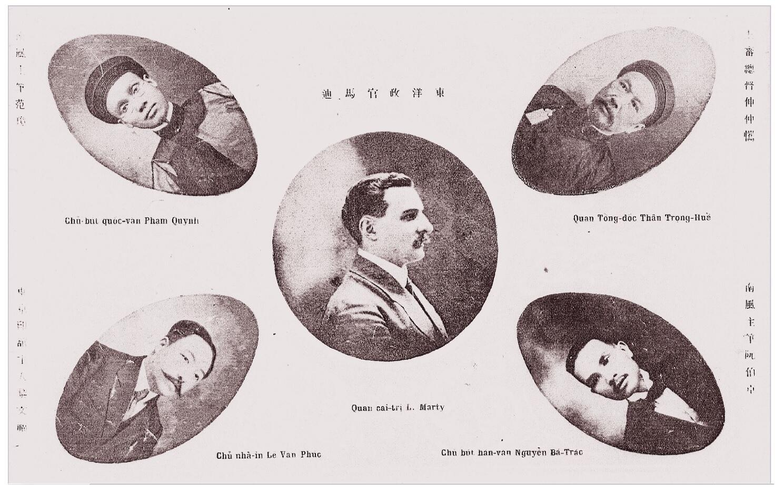 Đội ngũ sáng lập tạp chí Nam Phong, 1917.