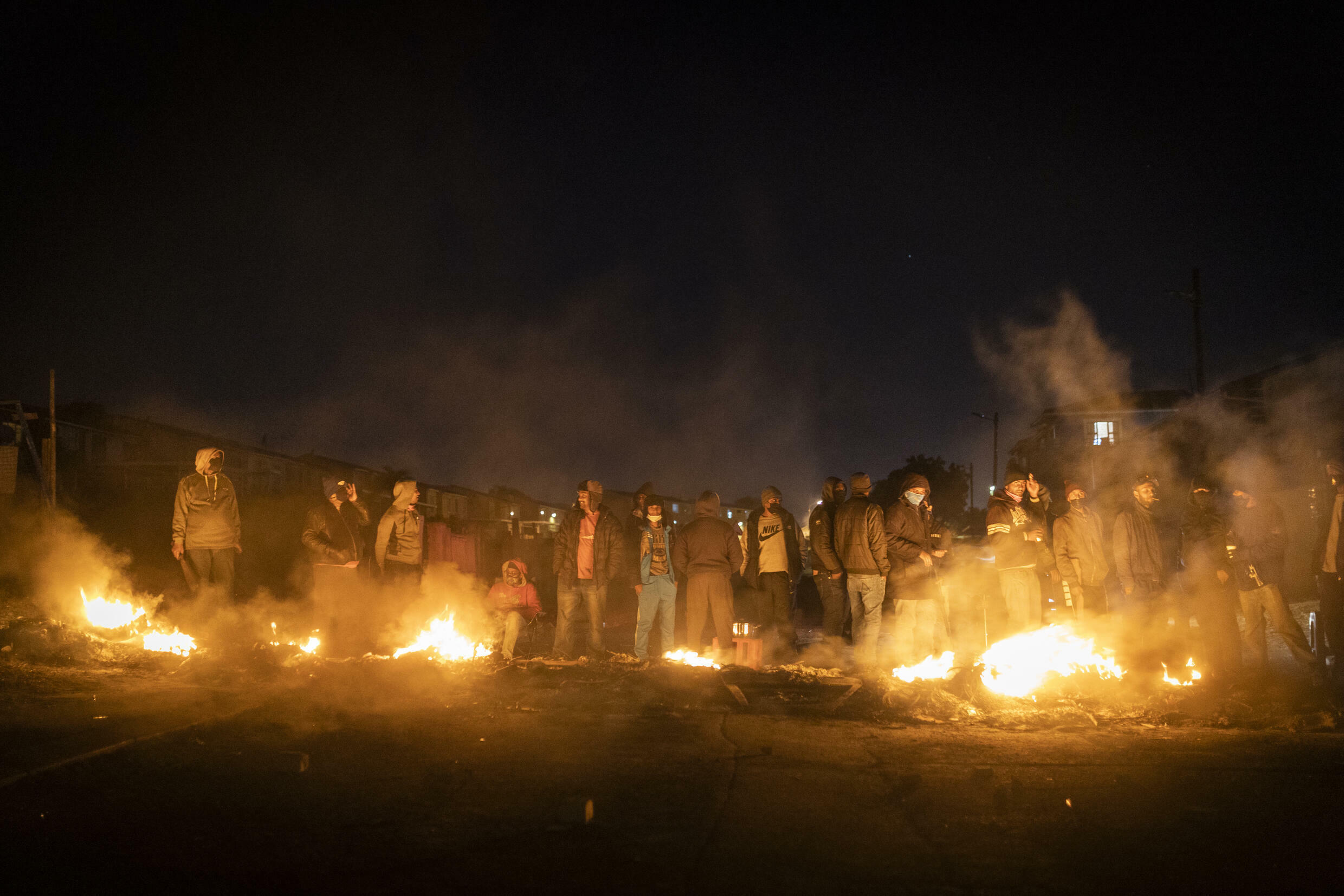 The unrest, the worst in post-apartheid South Africa, erupted a week ago