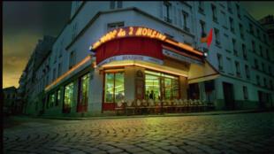 Le Fabuleux destin d'Amélie Poulain, le Café des 2 Moulins.