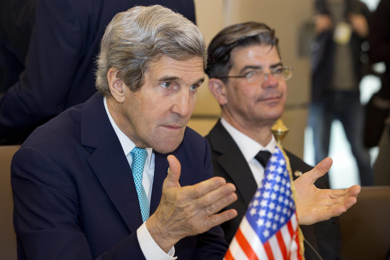 John Kerry était jusqu'à ce vendredi 4 avril en Algérie, pour évoquer notamment la situation sécuritaire dans la région.