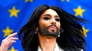Conchita Wurst, ganadora de Eurovision por Austria