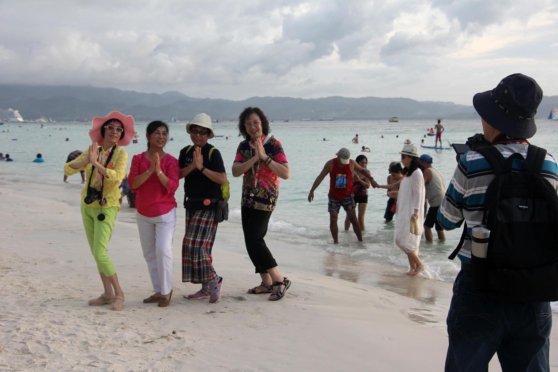 菲律賓長灘島2018年1月16日