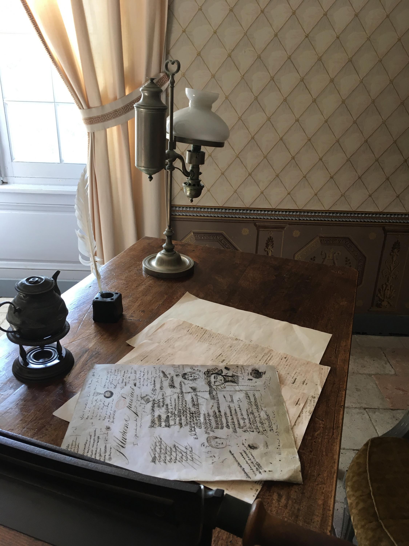 Комната Бальзака в замке Саше