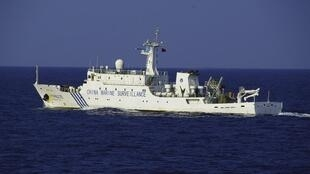 中国海监船