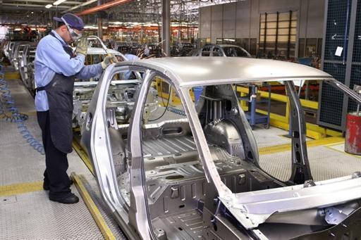 Fábrica de automóveis em Curitiba. Setor automobilístico foi um dos mais afetados pela greve dos caminhoneiros, com uma queda de 18%.