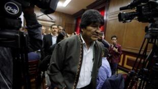 Evo Morales llegó a Argentina, donde tendrá el estatuto de refugiado. Foto de archivo.