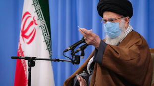 "Iran's Ayatollah Ali Khamenei said US and British vaccines were ""completely untrustworthy"""
